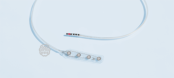 1x4 Strip Electrode, strip, electrode, stimulation, recording, cortical electrode, ecog